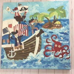 Other - Pirate Ship Artwork Picture